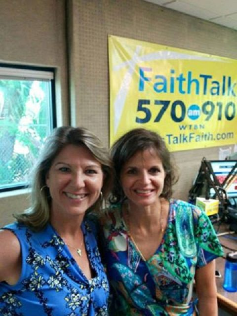 Julie Ames with Sally DePalma