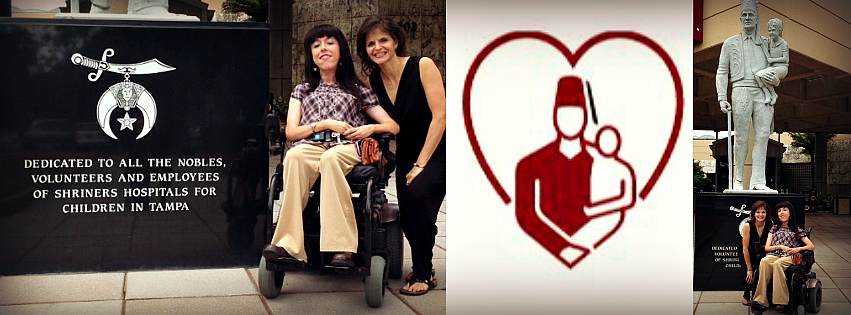 Pictured: Jamie Lynn Santillo, Shriners Hospitals for Children - Tampa, and Julie Ames, SNFH.