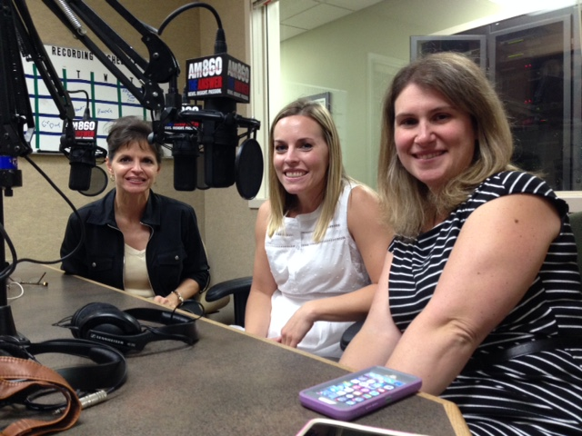 Julie Ames, SNFH, and Jennifer Broughton, Early Childhood Council and Dr. Emily Cimino, Child Find.